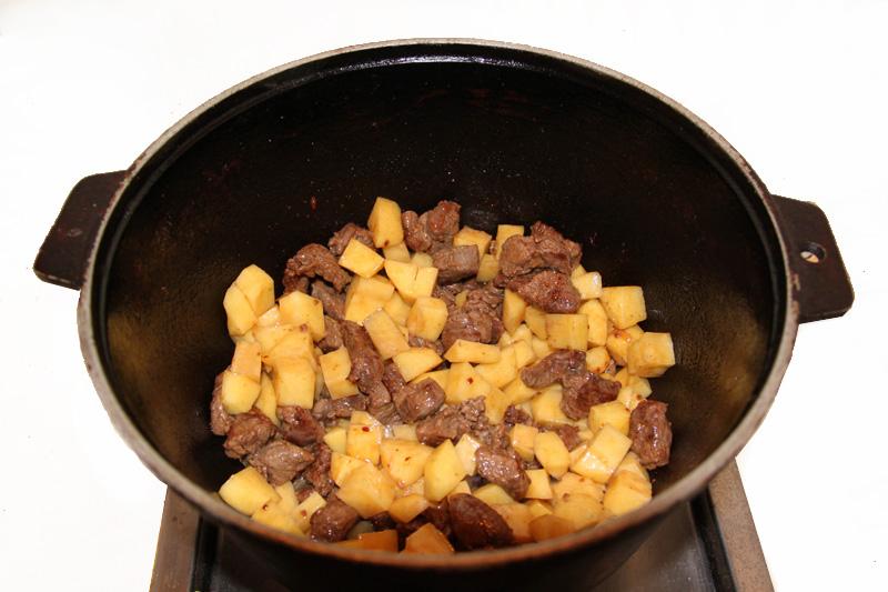 самый вкусный рецепт мяса с овощами