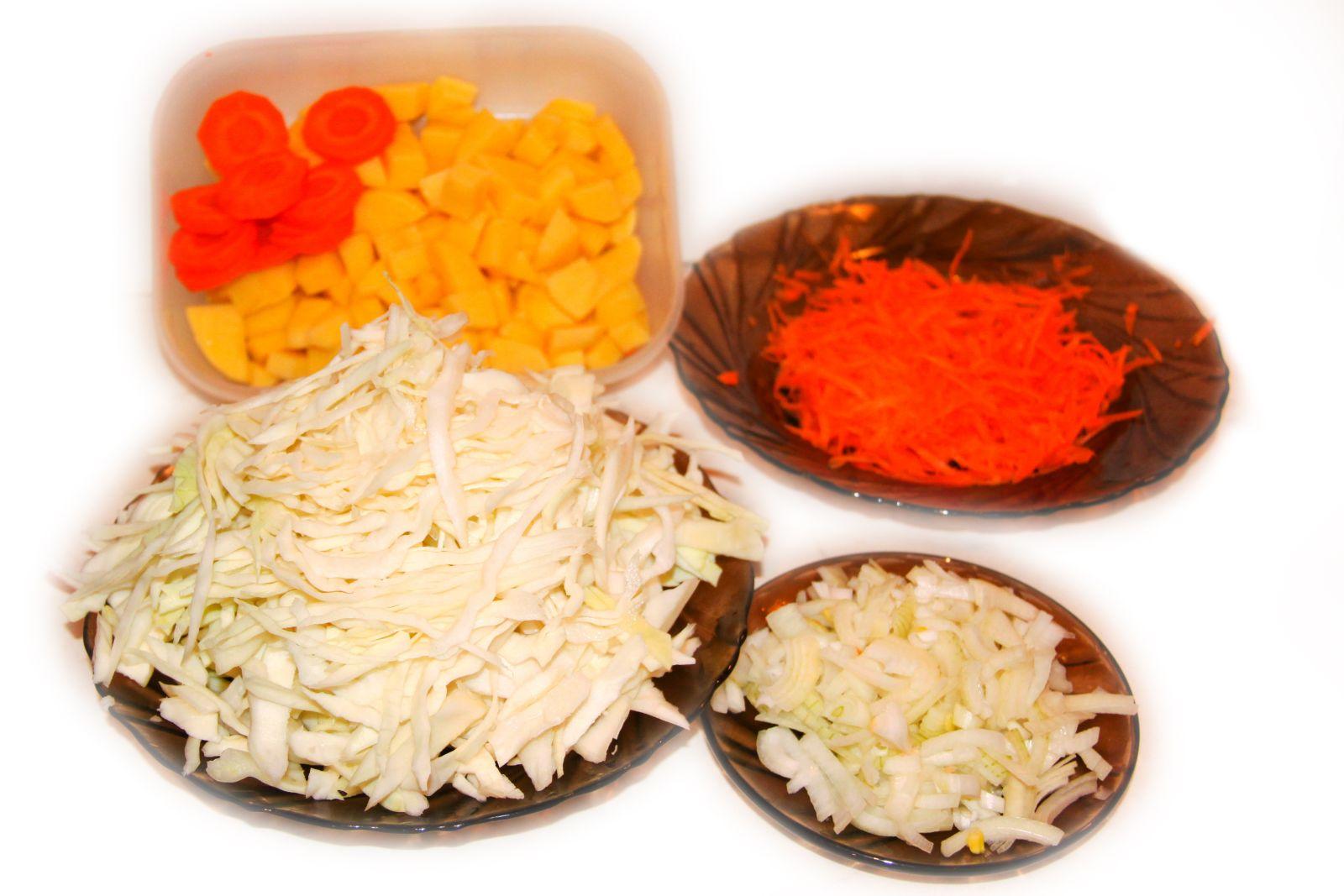 рецепт постных щей из свежей капусты без мяса